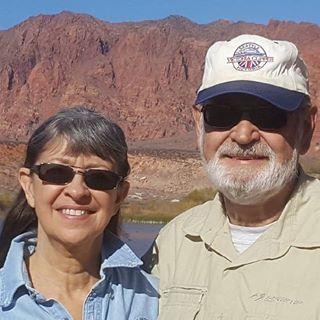 Lisa Rutherford and Paul Van Dam