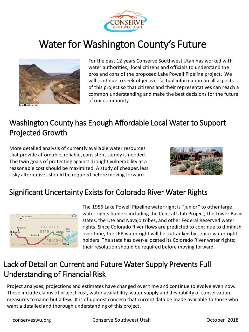 Water for Washington County's Future PDF - Conserveswu